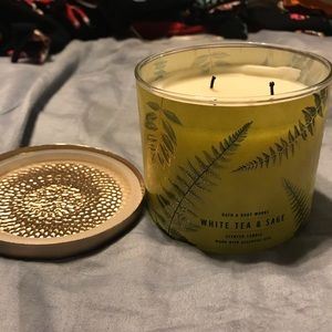 Bath & Body Works Accents - (Two) BBW 3-wick Candles
